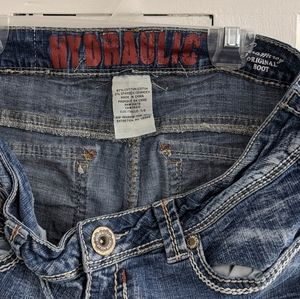 Hydraulic Jeans - Hydraulic Boot Cut Jeans Size 7/8